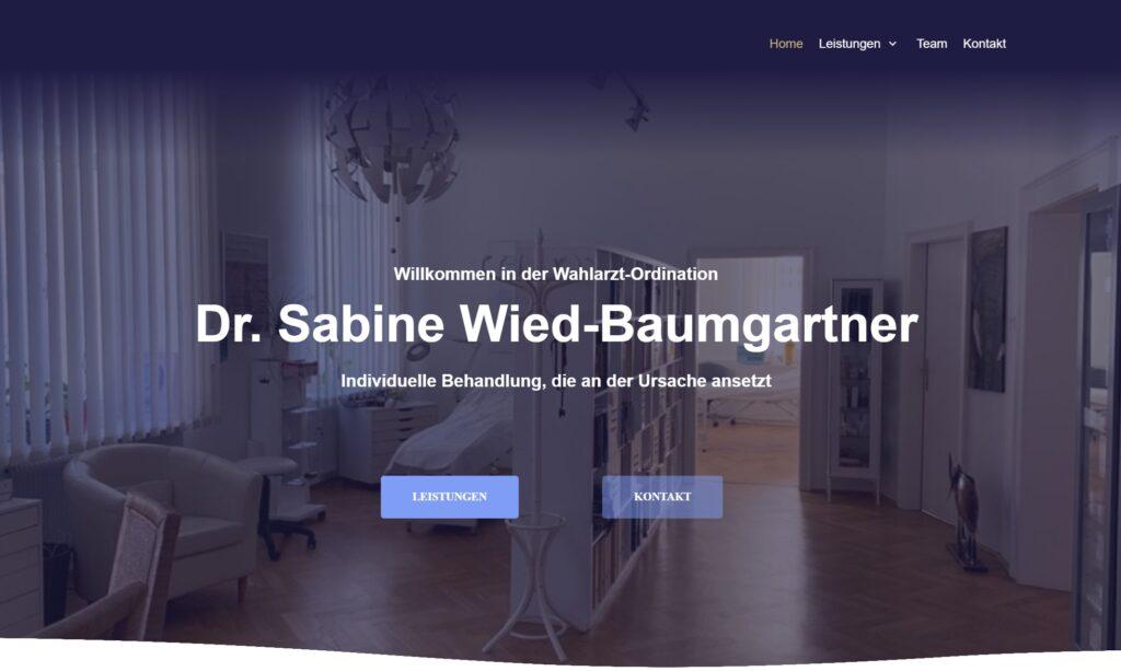 Dr. med. Sabine Wied-Baumgartner Linz Mundpropaganda